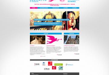 Les Sacrées Journées de Strasbourg : Page d'accueil