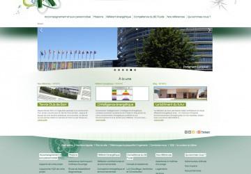 K Ingénierie : page d'accueil