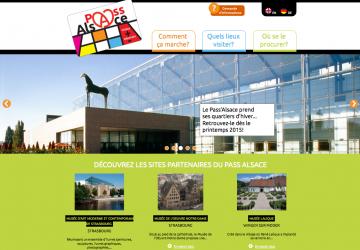 Site Pass Alsace : accueil