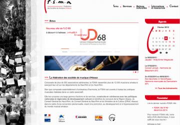 Page d'accueil du site de la FSMA