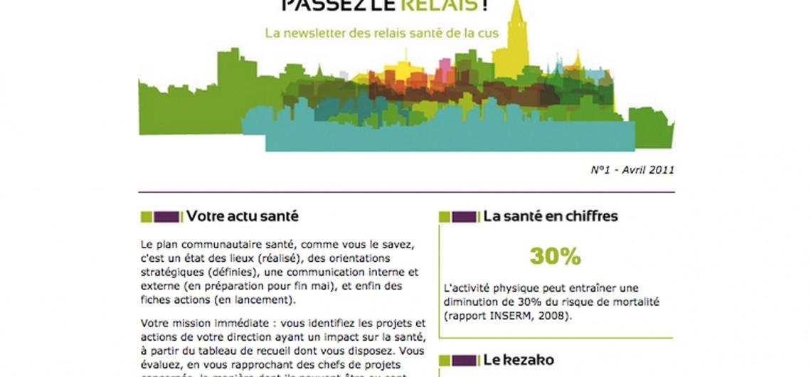 Newsletter pour la Ville de Strasbourg